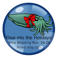 Noadi's Art Dive into the Holidays