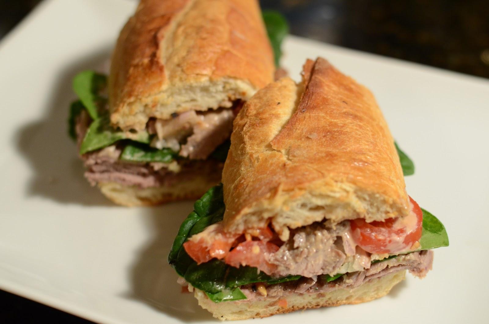 "Food for Flicks: Grilled Steak Sandwich and ""The Hurt Locker"""