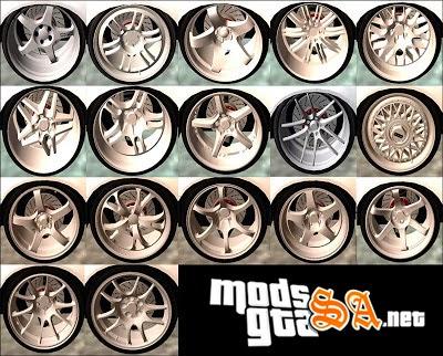 SA - Pack de Rodas Arfy Wheel Pack v2