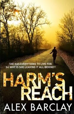 Harm's Reach by Alex Barclay – Spotlight + Giveaway