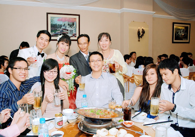 Dec 2011 - Thuong's wedding