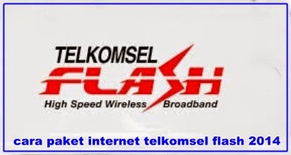 CARA PAKET INTERNET TELKOMSEL FLASH 2014