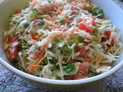 Colorful Mexican Coleslaw