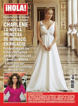 fashion assistance: una espléndida charlene wittstock, de michael