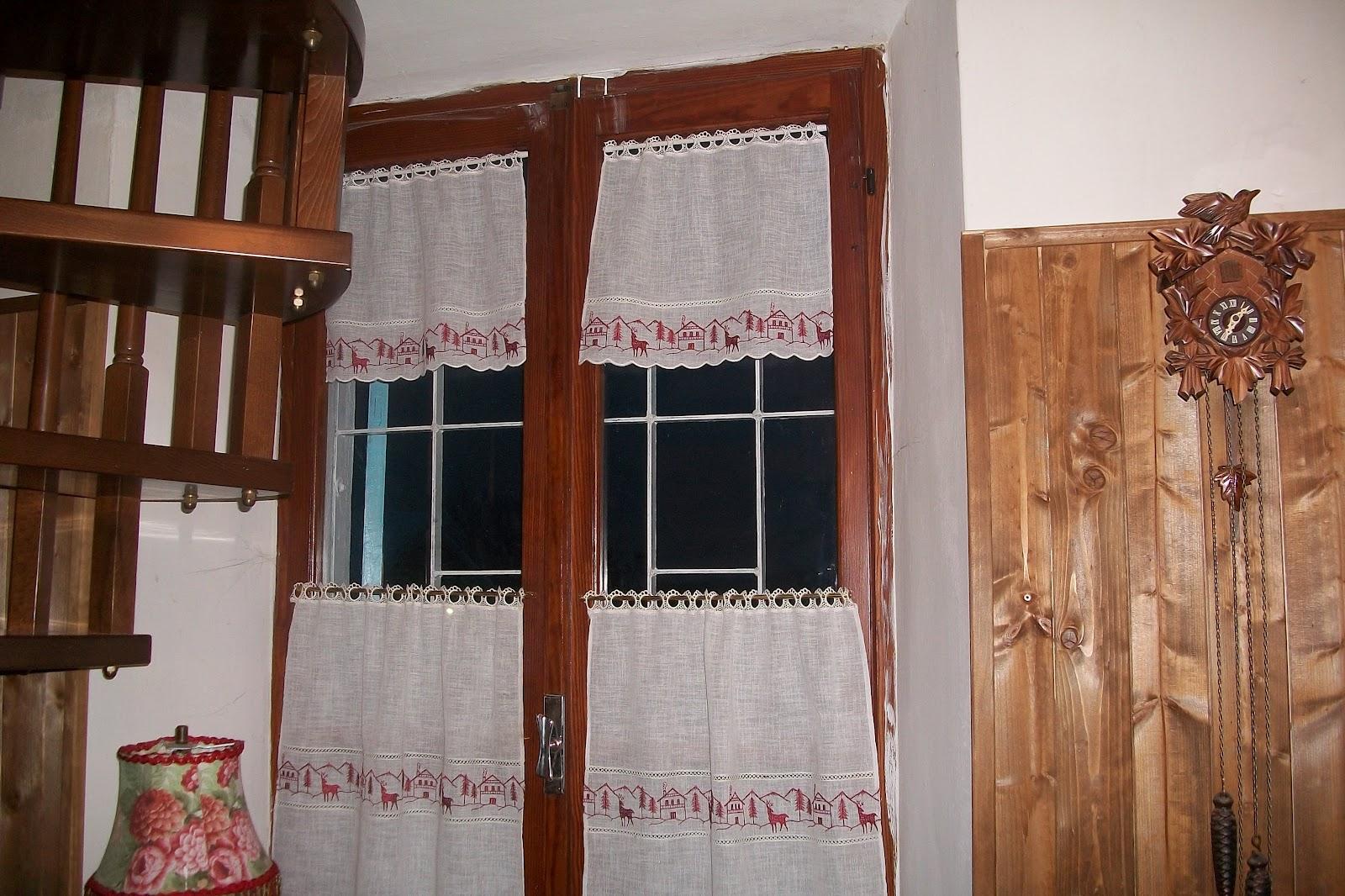 La casa di rory pillole di casa mia for Tendine tirolesi per cucina