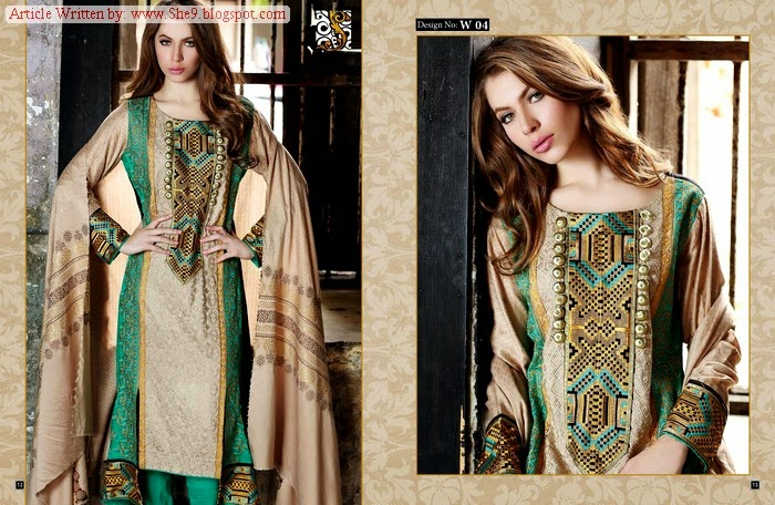 Shaista Cloth Eid Ul Azha Collection 2014