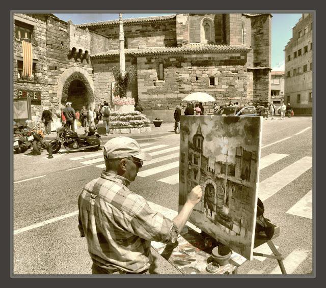 PRADES-PINTURA-TARRAGONA-BAIX CAMP-HISTORIA-FOTOS-PINTOR-ERNEST DESCALS-