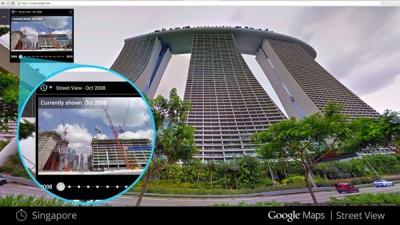 Ada Mesin Waktu di Google Maps Street View