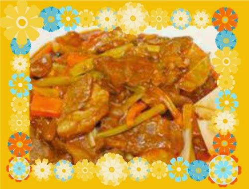 Tumis-tumis Ramadan Chef Sabri - NASI MENTEGA, KAMBING MASAK MERAH, SALAD KENTANG DENGAN TIMUN