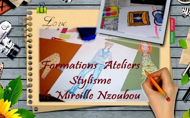 Formations-Ateliers Stylisme de Mireille Nzoubou