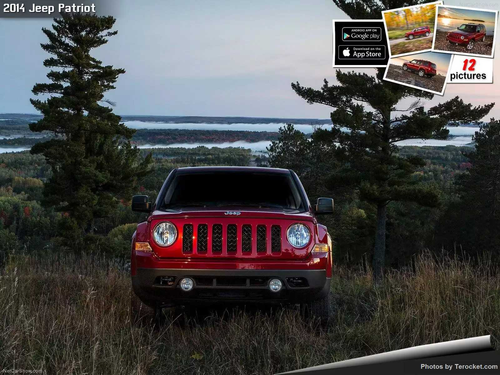 Hình ảnh xe ô tô Jeep Patriot 2014 & nội ngoại thất