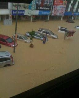 Banjir di Kajang