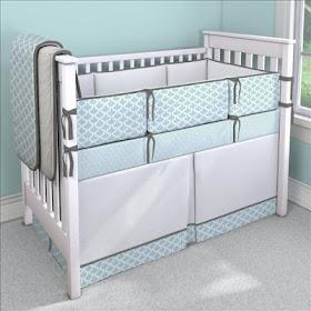 Decoraci n ideal cuarto de bebe en gris y turquesa for Decoracion habitacion bebe turquesa y gris