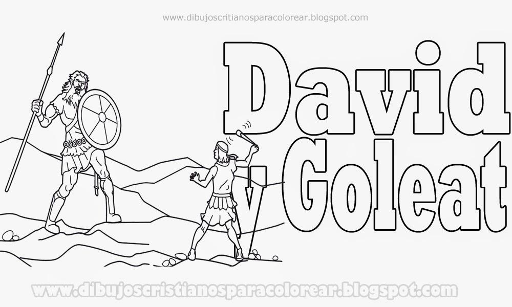Excelente David Y Goliath Páginas Para Colorear Con Historia ...