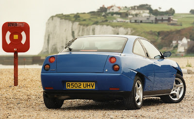 Fiat Coupe looked just as radical from the back