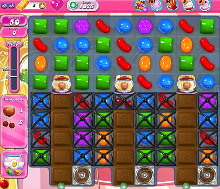 Candy Crush Saga 1025