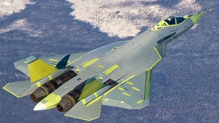 India Beli 127 Pesawat Sukhoi T-50 Rusia Senilai $25 Miliar