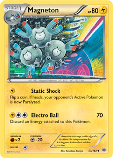 Magneton BREAKthrough Pokemon Card