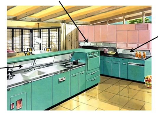 Brilliant 1950 Vintage Metal Kitchen Cabinets 536 x 405 · 41 kB · jpeg