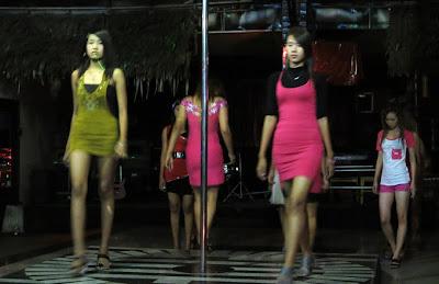 burmese nightlife show