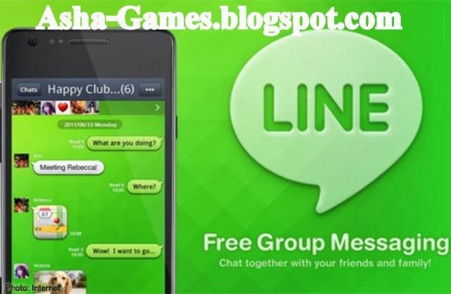Line - популярный сервис для обмена бесплатными сообщениям и звонками, кото