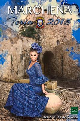 Marchena - Feria 2015 - Antonio José Calle Pliego - Modelo Laura García Ternero