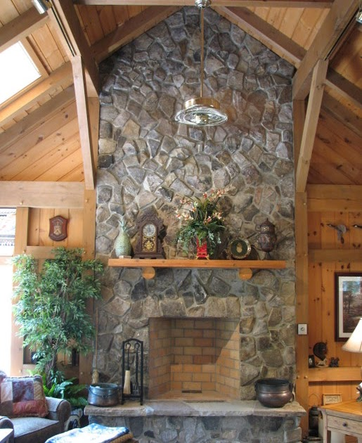 Home Garden Fireplace Designs : Home and garden stone fireplace designs decorating ideas