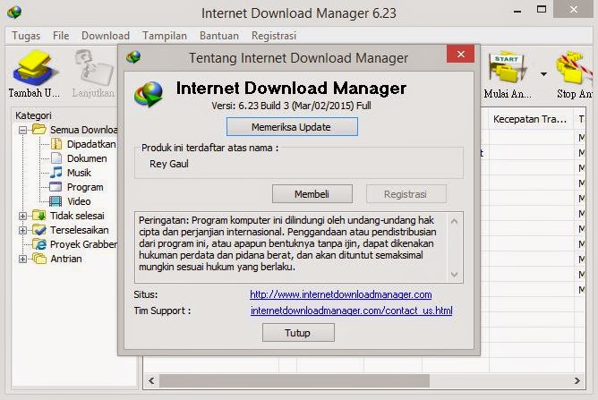 Tips overcome the blacklist Internet Download Manager