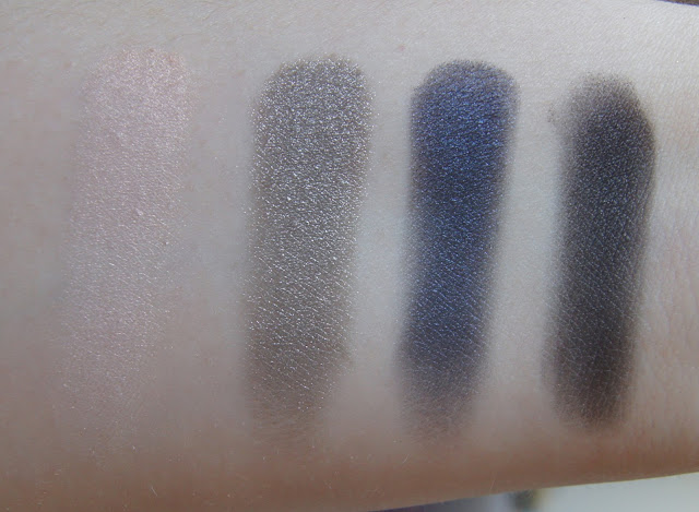 NARS dual intensity palette swatches