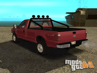 Ford F-350 Super Duty para GTA San Andreas