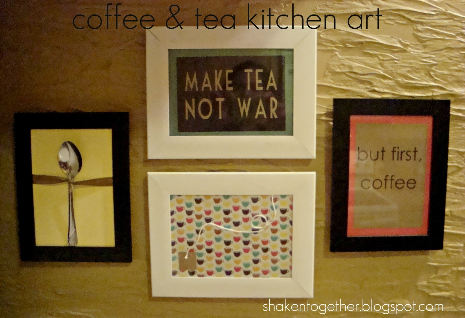 easy coffee & tea kitchen art