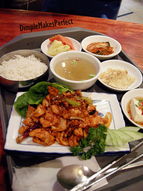 Dak Bulgogi Jung Sik (Korean BBQ Chicken), RM 14.90