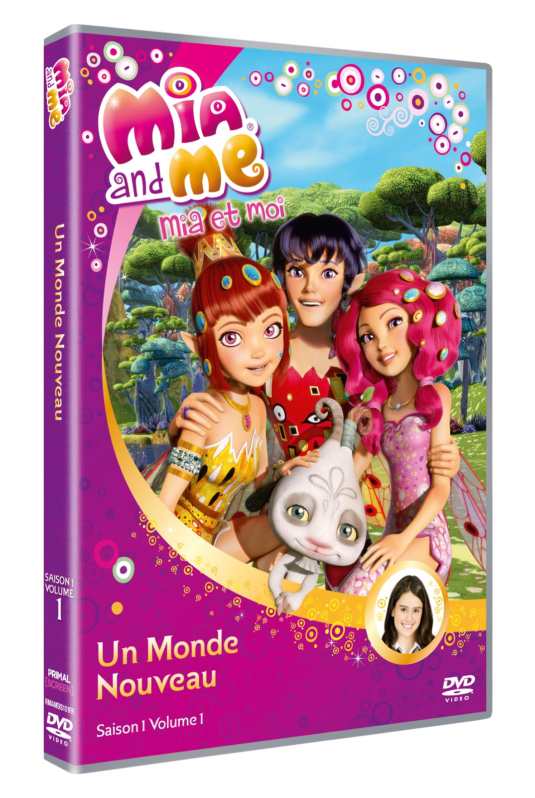 Decouvertesenfants mia and me enfin en dvd concours - Mia et moi saison 2 ...