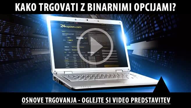 Kako Trgovati z Binarnimi Opcijami - Video Predstavitev