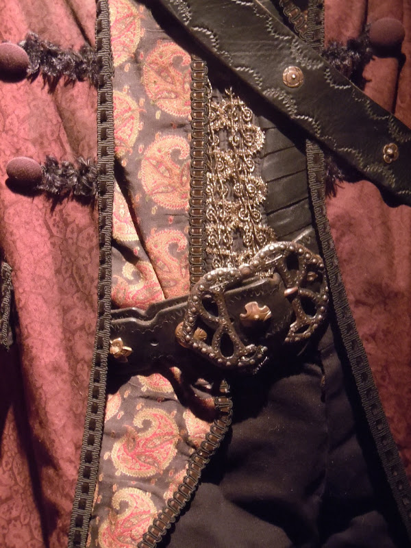 Angelica Pirates costume detail