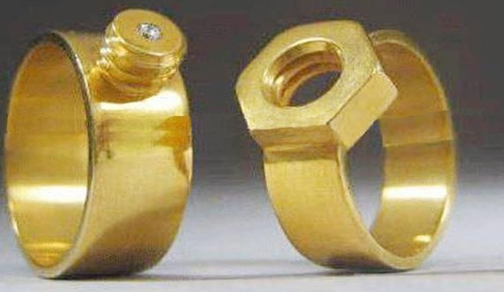 House of Fashion n Fun Wedding Rings For Engineers