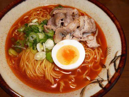 【寿がきや(Sugakiya Foods)】名古屋名物 本家 赤から監修・赤からラーメン(袋)