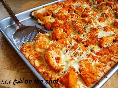 تشيكن كرسبي بيتزا 1 2 3 أطبخ Be The Chef