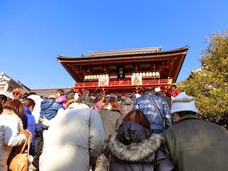 鶴岡八幡宮初詣