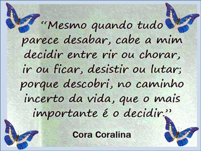 Amado BLOG DA PROFESSORA FLOR: Momento de Poesia - Cora Coralina AS64