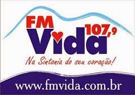 ouvir a Rádio Vida FM 107,9 Martins RN