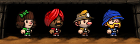 Spelunky characters