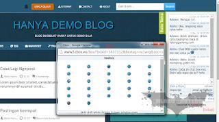 Cara Memasang Chat Box Versi CBOX di Blogger