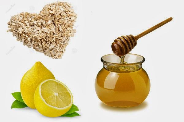 Masker Lemon Madu Dan Oat Untuk Kulit Lebih Cerah