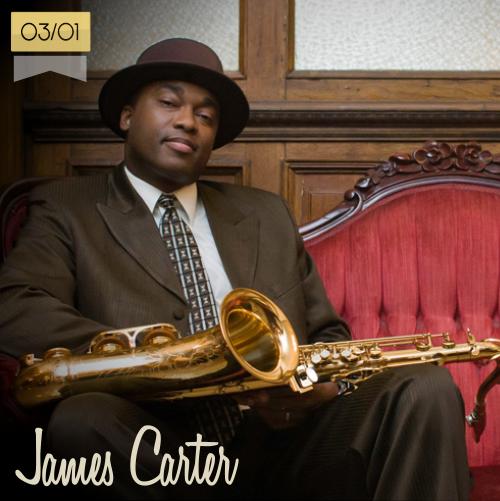 3 de enero | James Carter - @APassion4Jazz | Info + vídeos