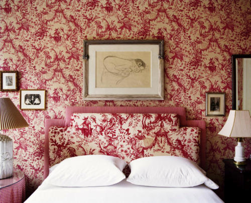Bedroom Decorating Ideas Totally Toile: Chinoiserie Chic: Chinoiserie Toile Bedrooms