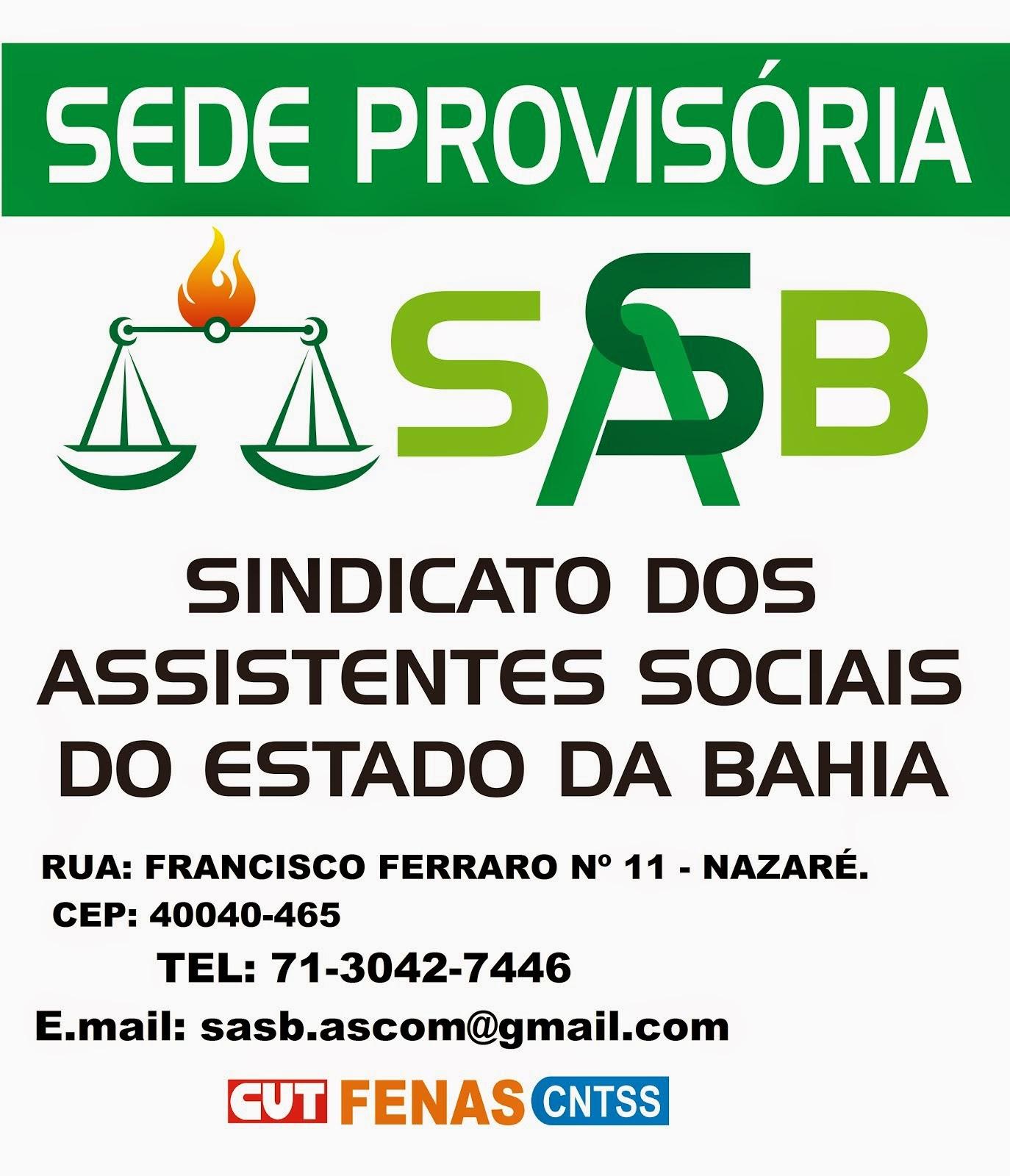 SEDE PROVISÓRIA DO SASB