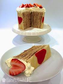 Swiss Roll Cake With Vertical Layers
