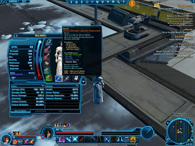 SWTOR - Virtuous Strategist Lightsaber 2