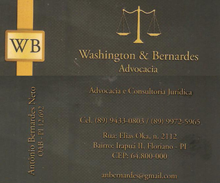 Washington & Bernardes - Advogados e Consultoria Juridica